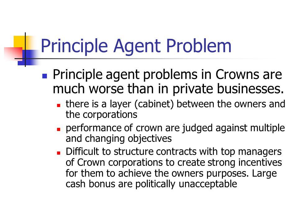 Principle Agent Problem