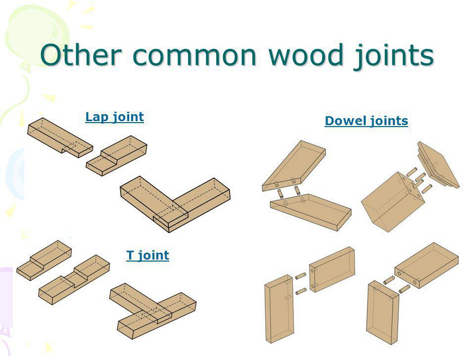 Other common wood joints