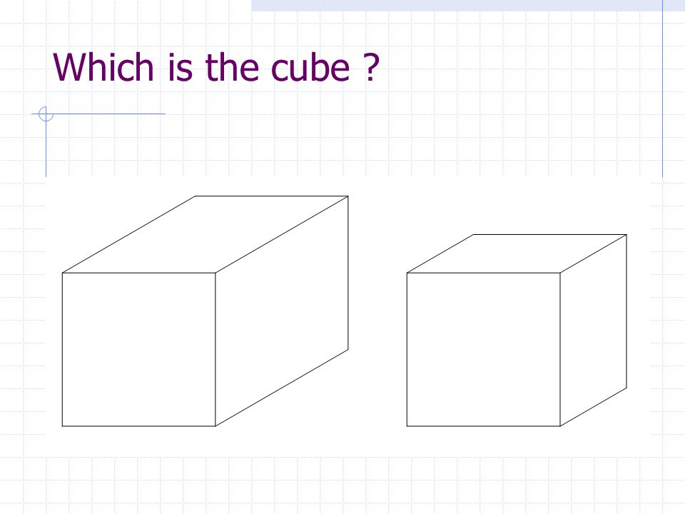 Which is the cube
