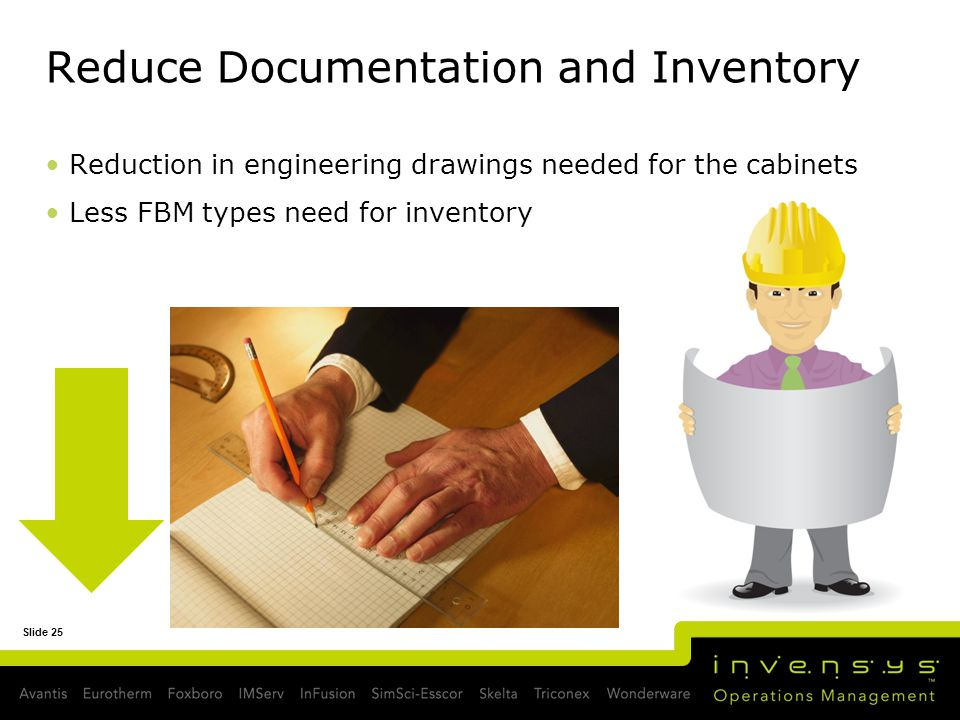 Reduce Documentation and Inventory