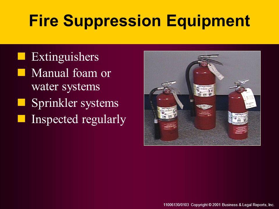 Fire Suppression Equipment