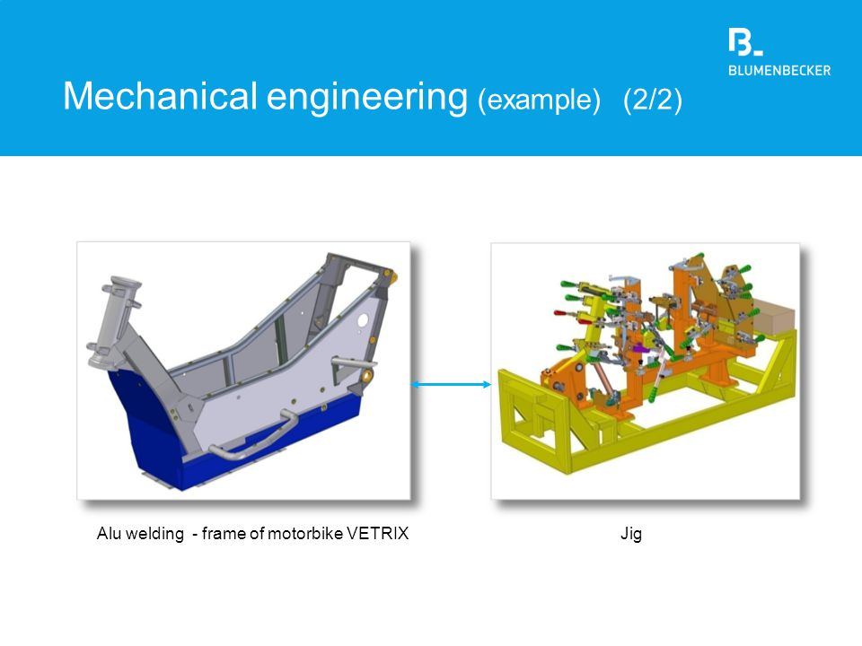 Mechanical engineering (example) (2/2)