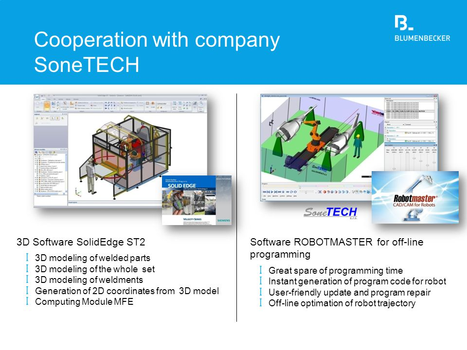 Cooperation with company SoneTECH
