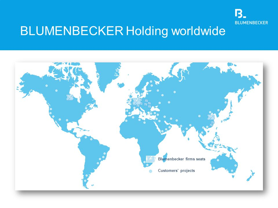 BLUMENBECKER Holding worldwide