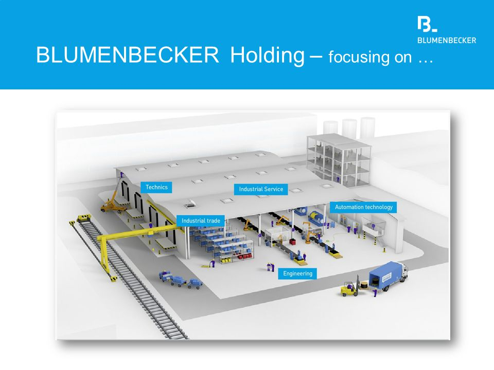 BLUMENBECKER Holding – focusing on …