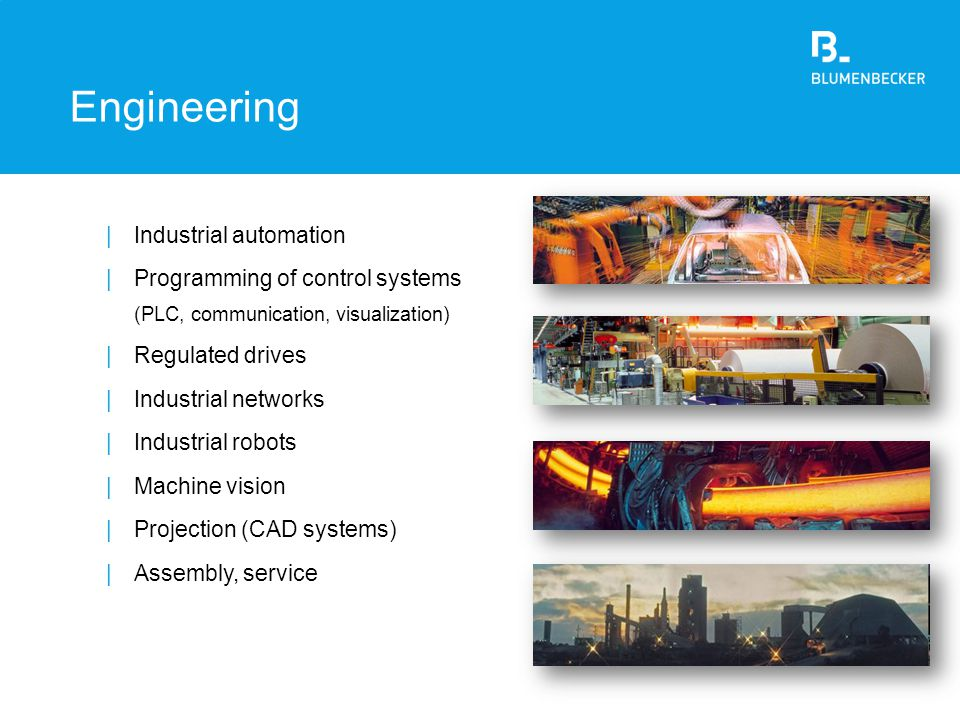 Engineering Industrial automation