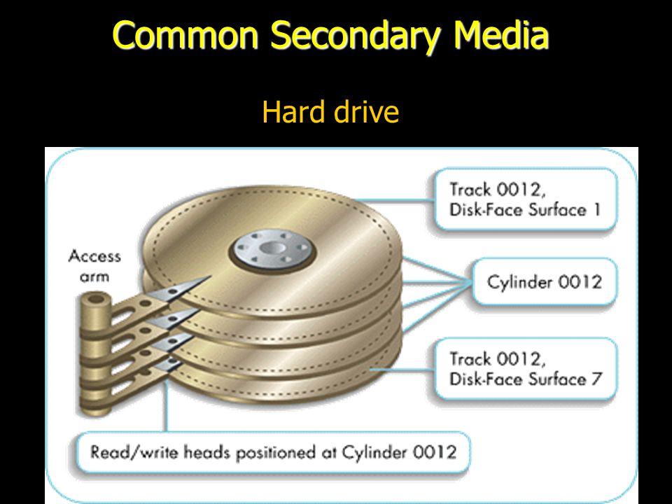 Common Secondary Media