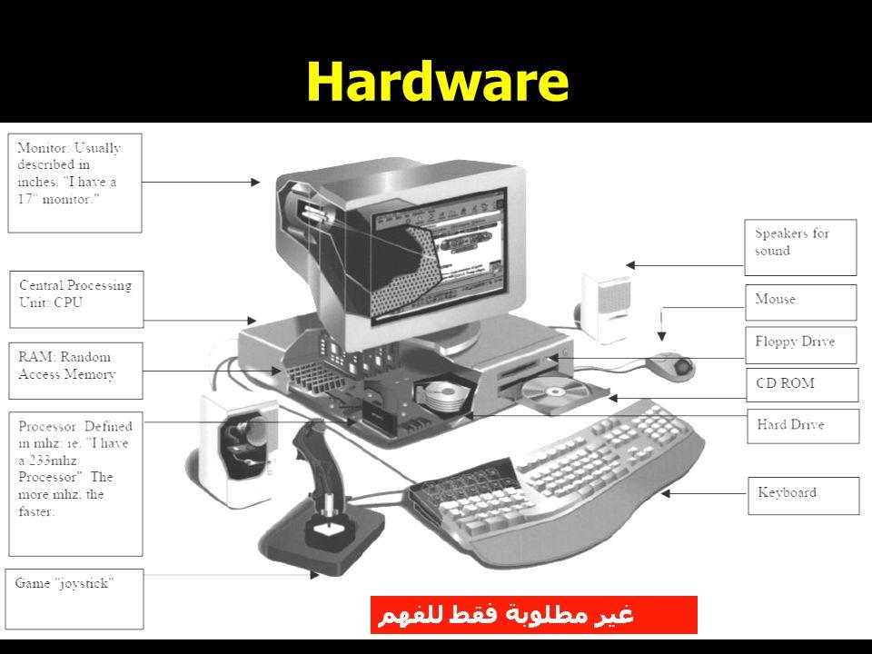 Hardware غير مطلوبة فقط للفهم