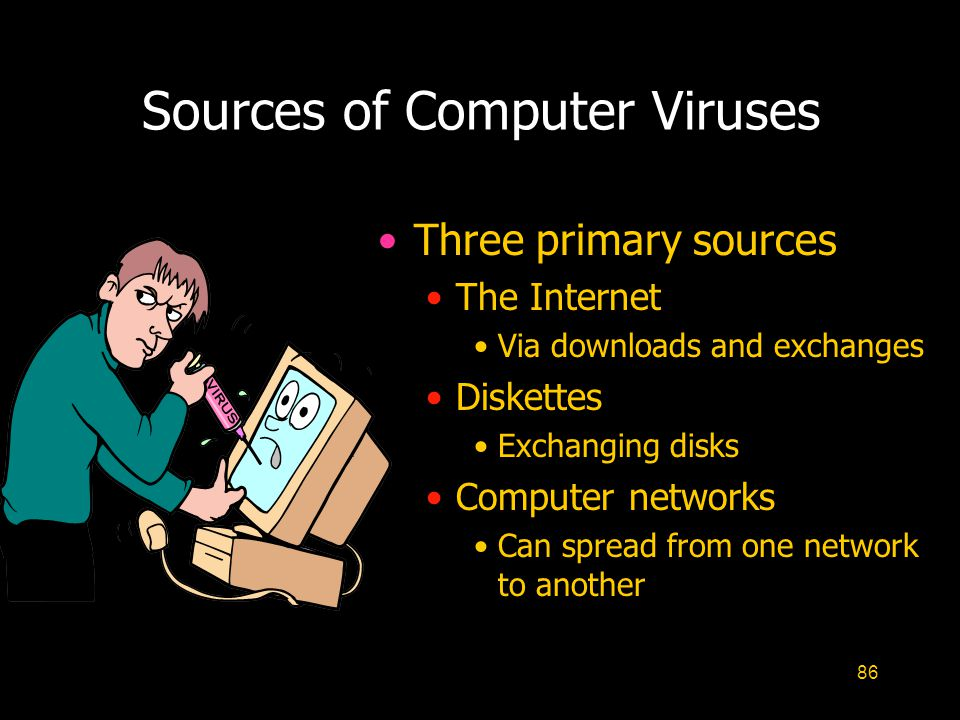 Sources of Computer Viruses