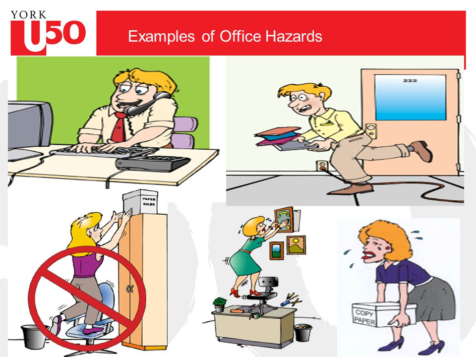 Examples of Office Hazards