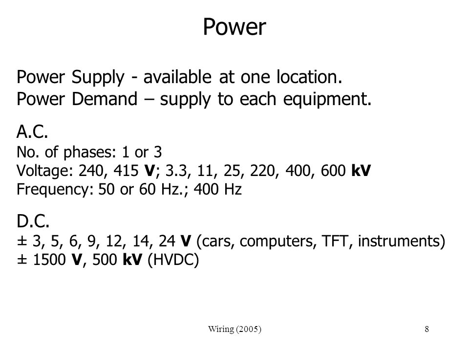 Power Power Supply - available at one location.