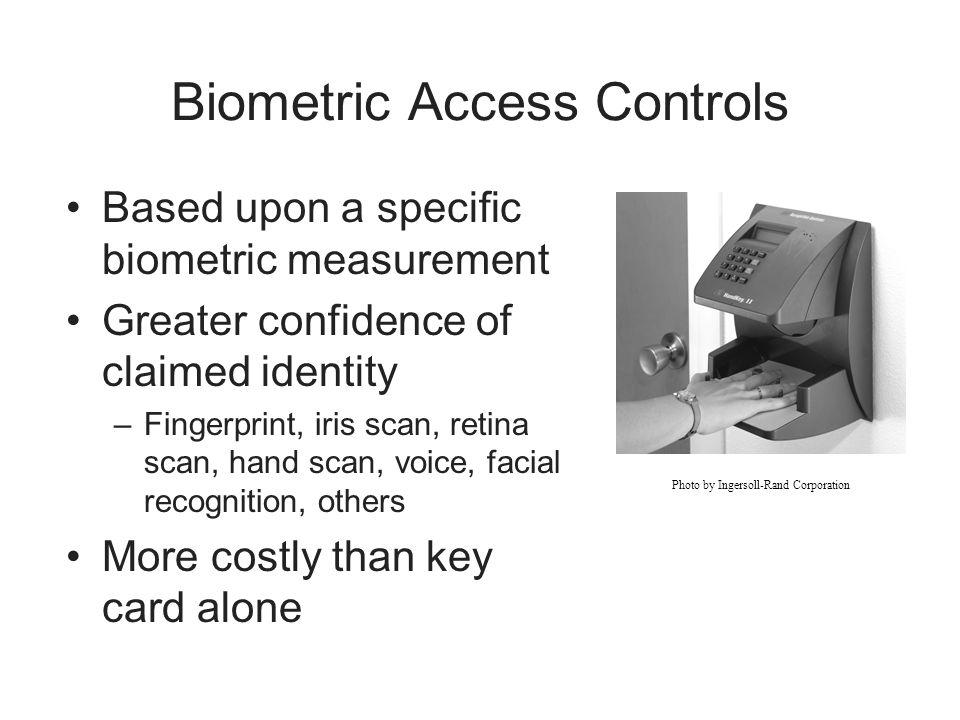 Biometric Access Controls