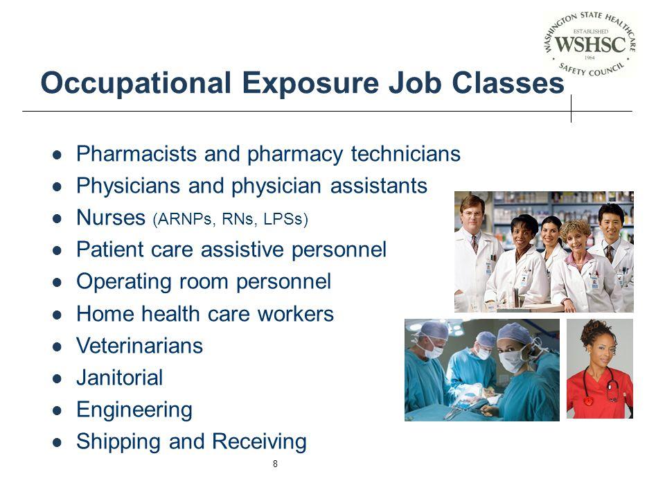 Occupational Exposure Job Classes