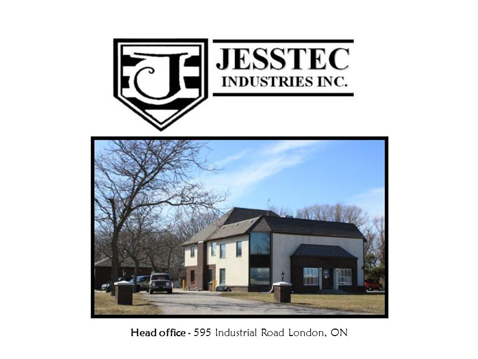 Head office - 595 Industrial Road London, ON