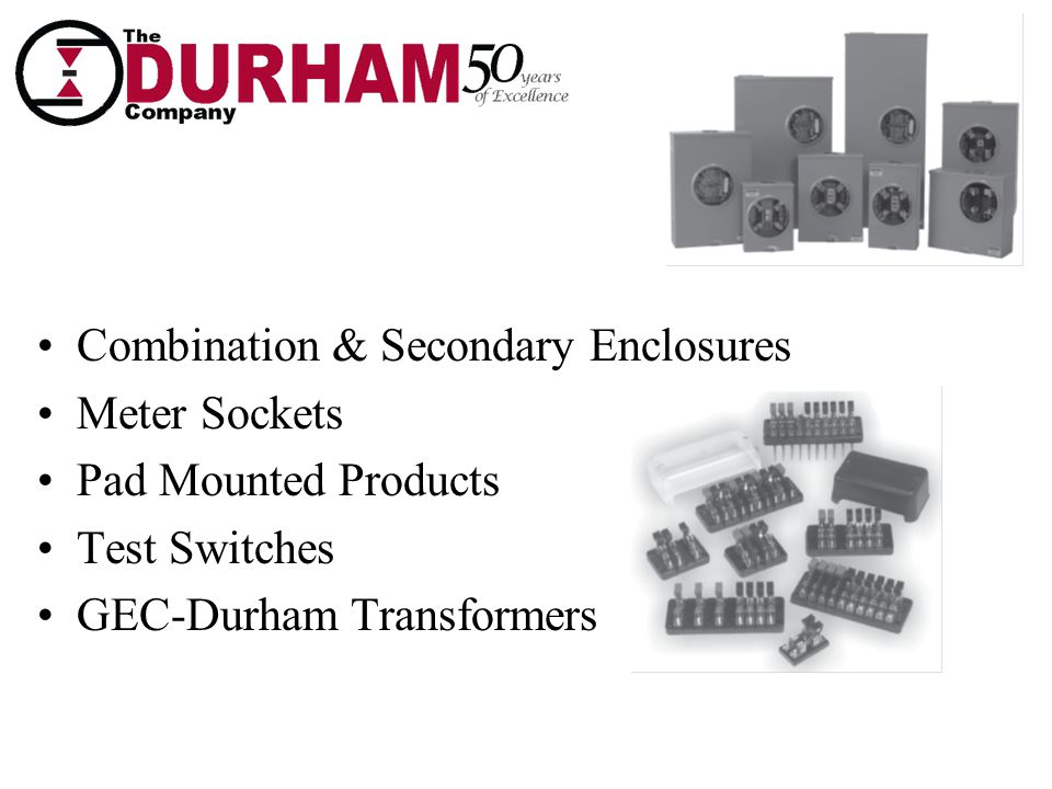 Combination & Secondary Enclosures