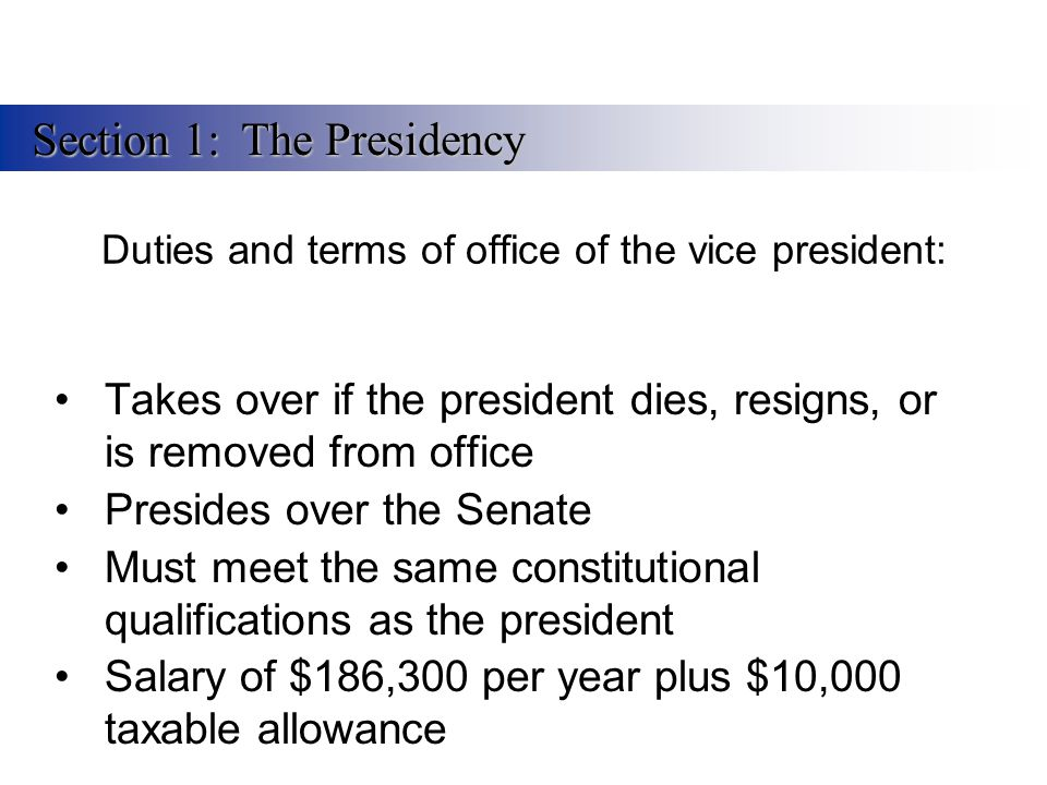 the responsibilities and roles of the president The president of the united states has seven roles in his job, from being the commander-in-chief to the guardian of the economy.