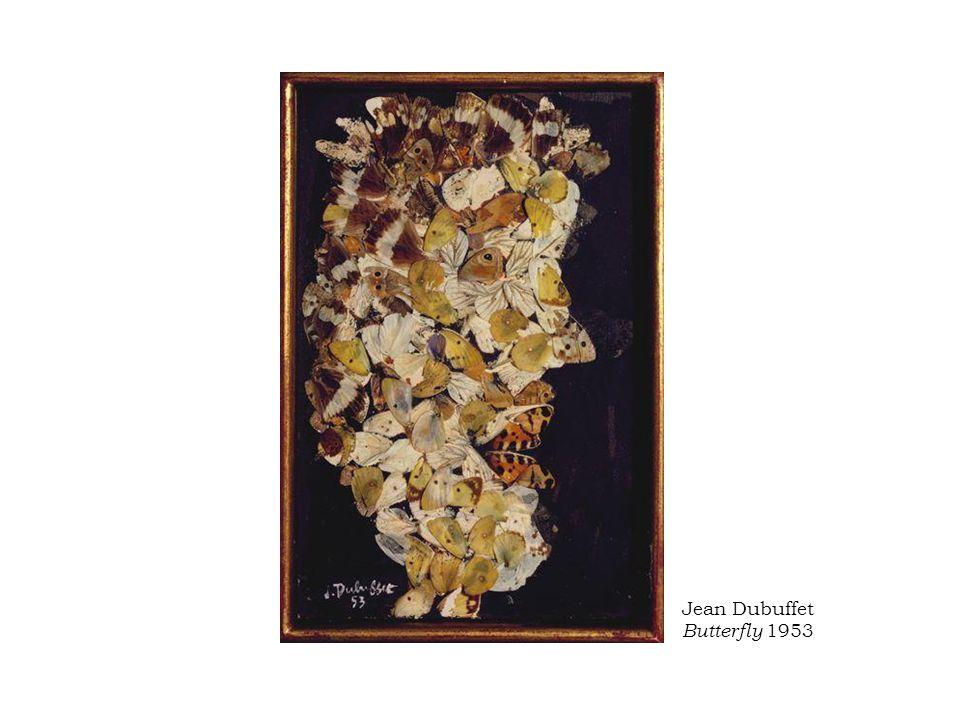 Jean Dubuffet Butterfly 1953