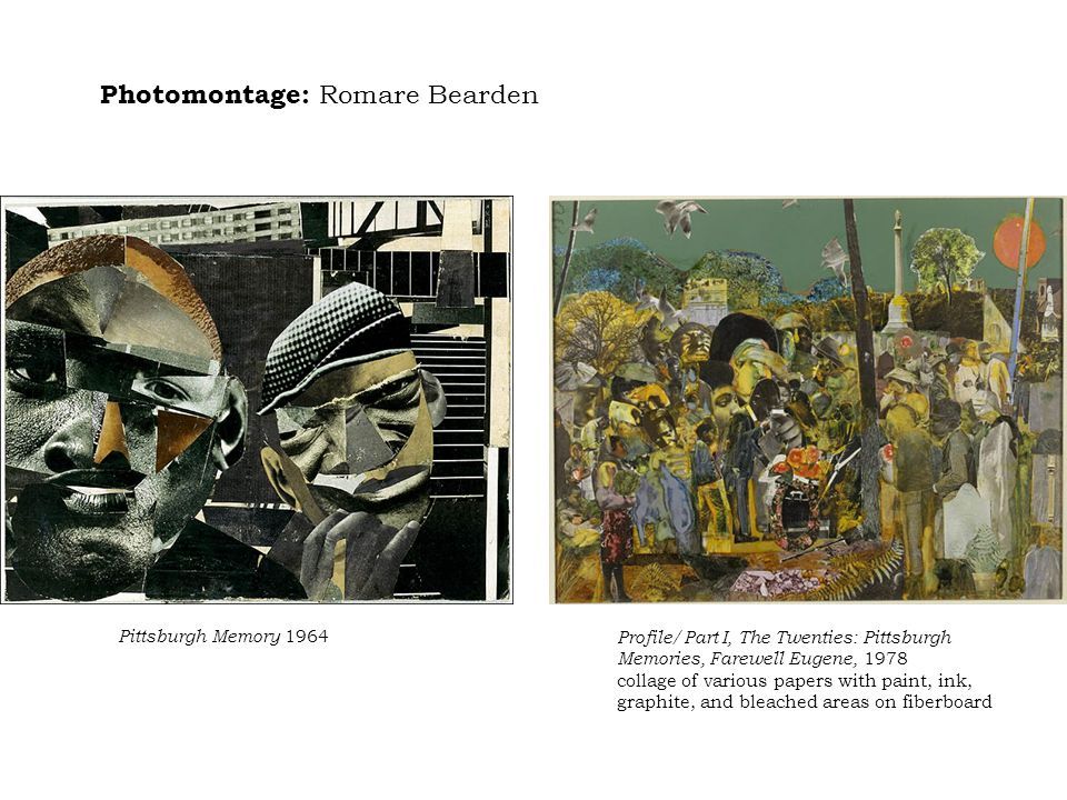 Photomontage: Romare Bearden