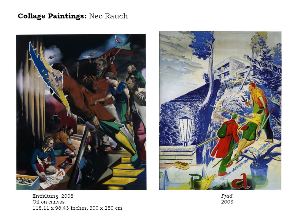 Collage Paintings: Neo Rauch