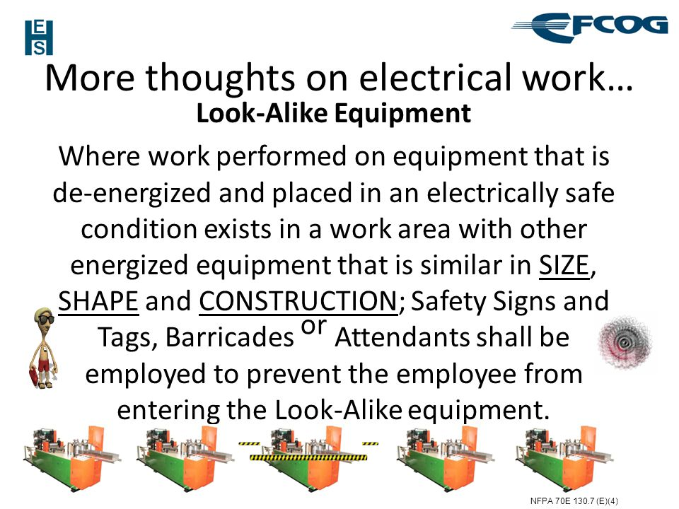 More thoughts on electrical work…