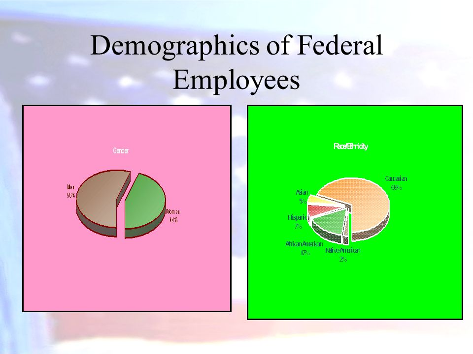 Demographics of Federal Employees
