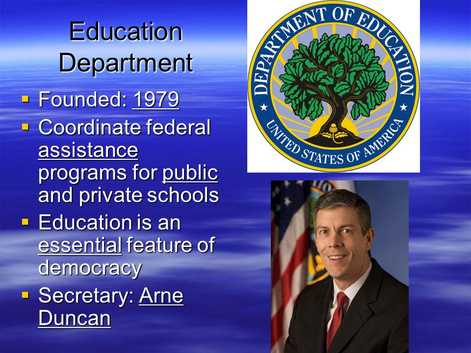 Education Department Founded: 1979