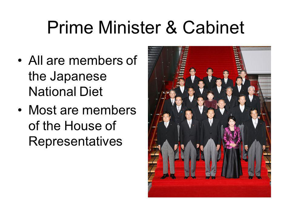 Prime Minister & Cabinet