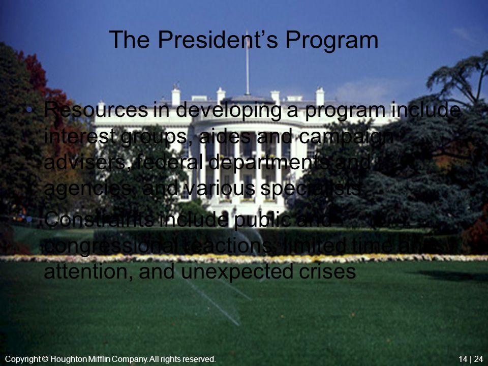 The President's Program