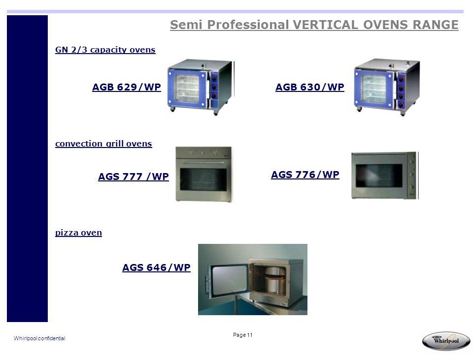 Semi Professional VERTICAL OVENS RANGE