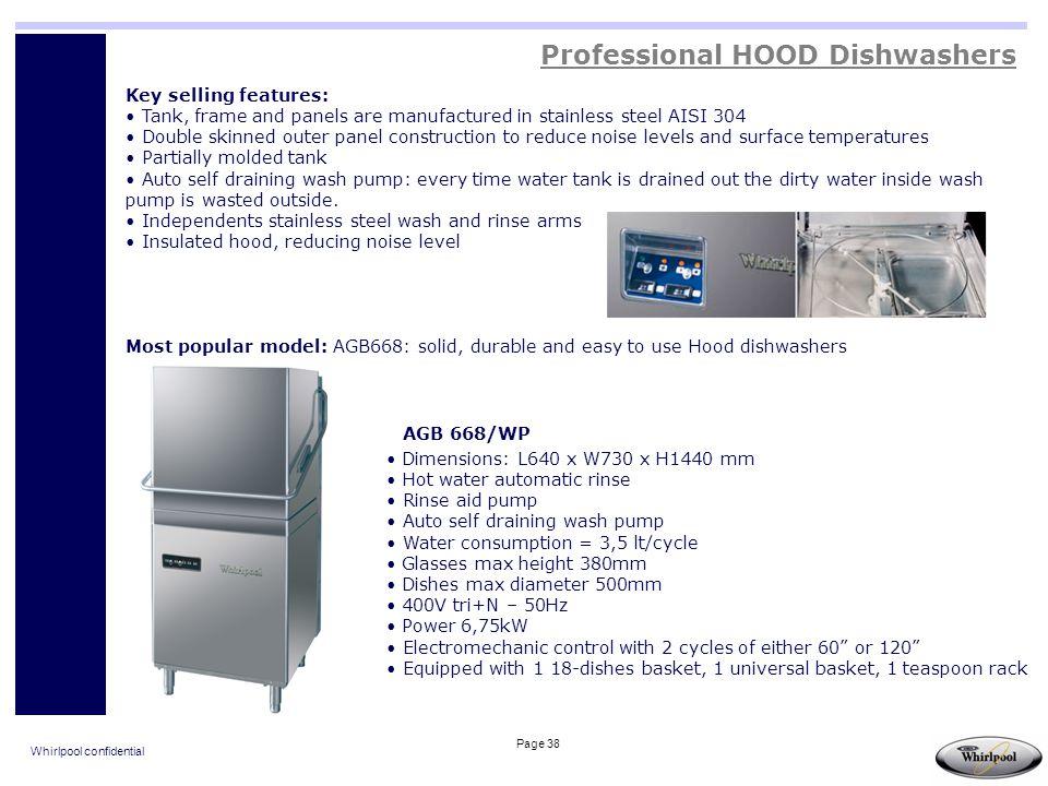 Professional HOOD Dishwashers