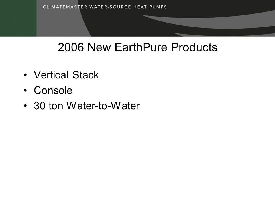2006 New EarthPure Products