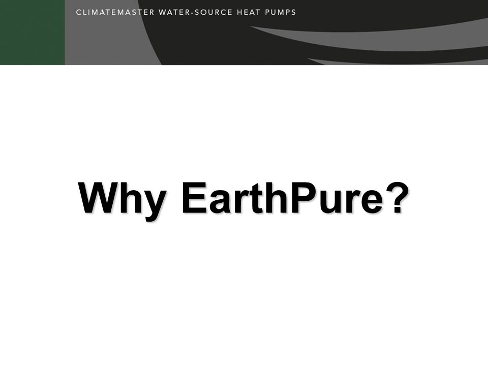 Why EarthPure