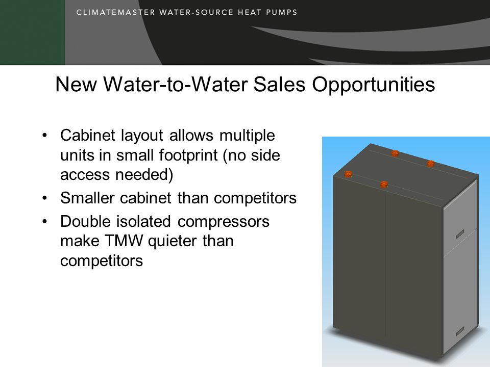 New Water-to-Water Sales Opportunities