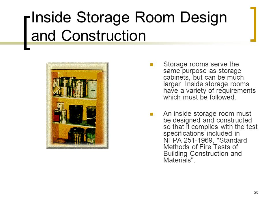Flammable and combustible liquids ppt download for Room design method nfpa 13