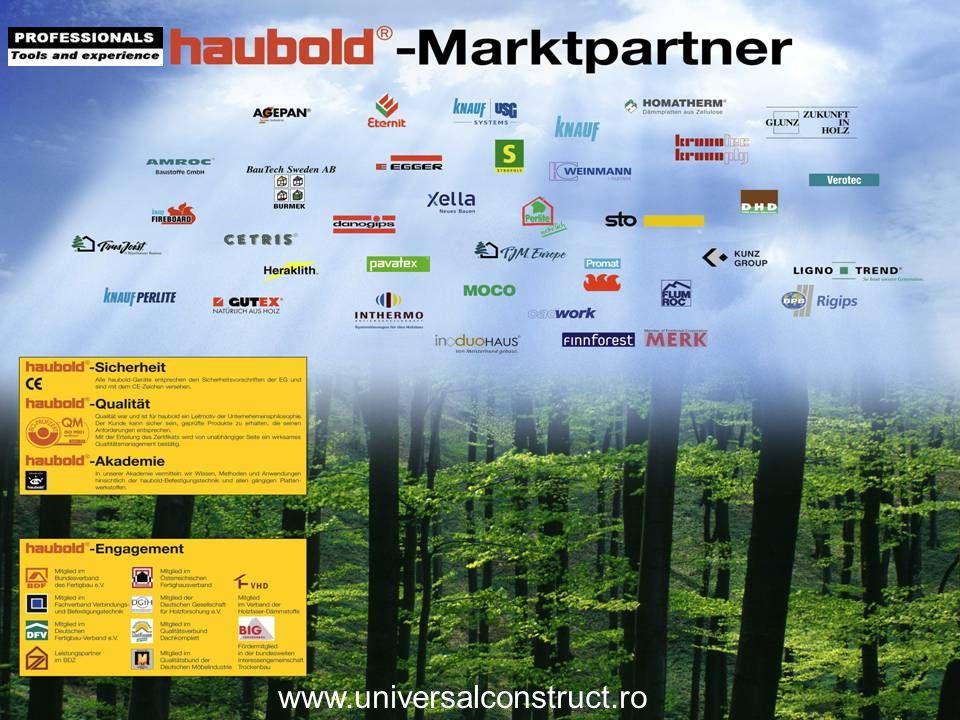 Marktpartner www.universalconstruct.ro Fragen an Seminarteilnehmer: