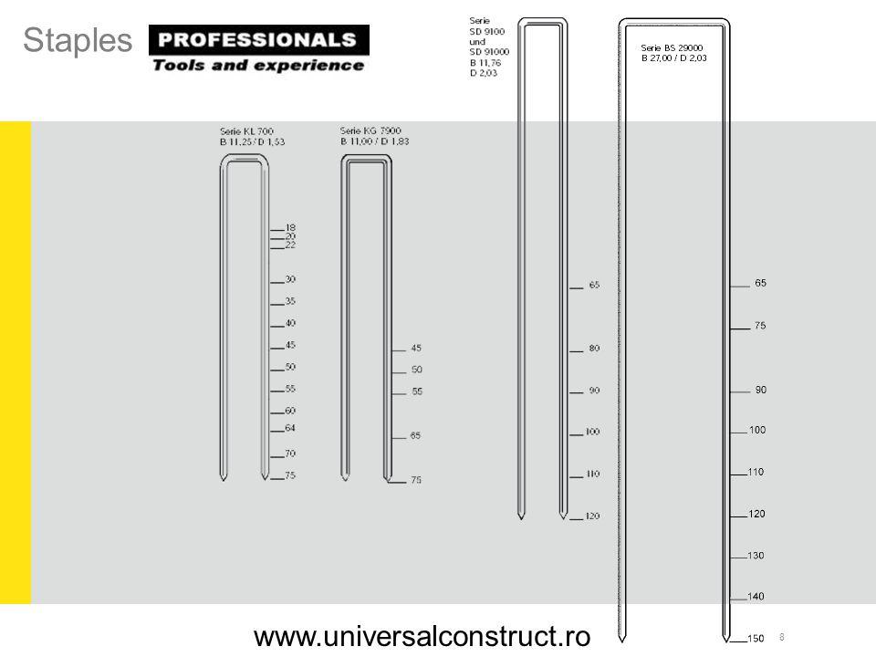 Staples www.universalconstruct.ro