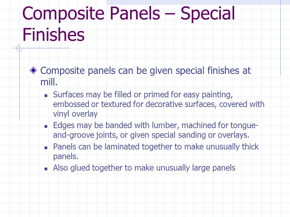 Engineered panel products ppt video online download Special paint finishes