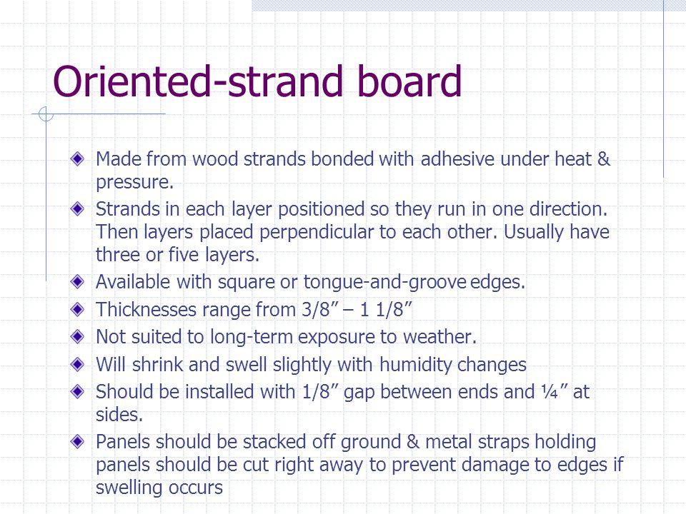 Oriented-strand board