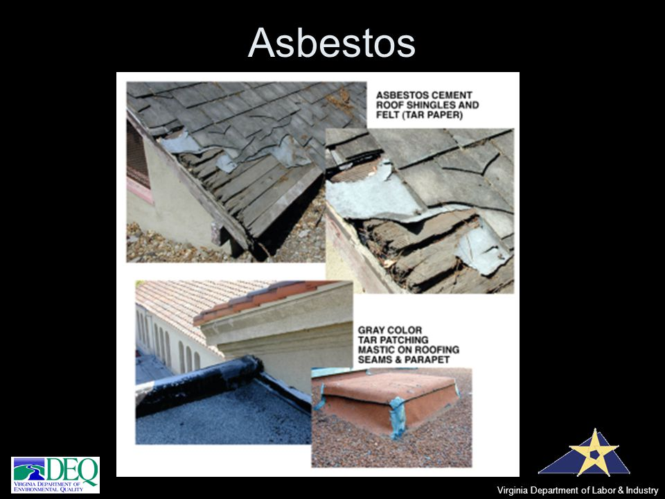 Asbestos Virginia Department of Labor & Industry