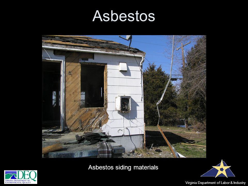 Asbestos Asbestos siding materials