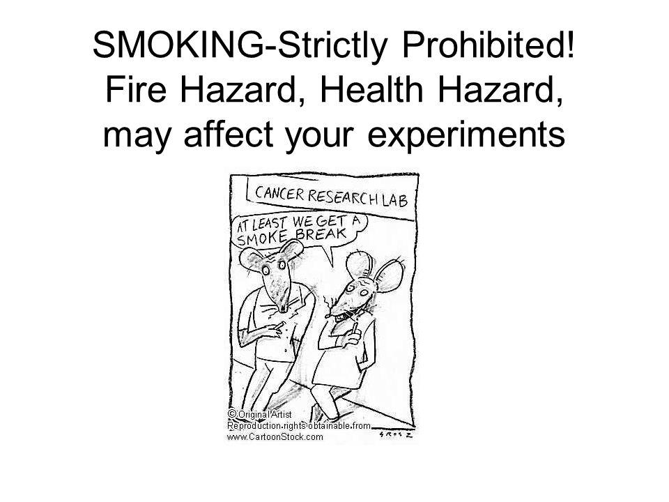 SMOKING-Strictly Prohibited