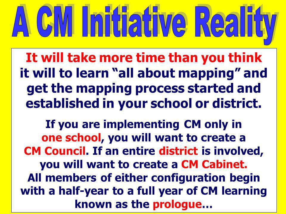 A CM Initiative Reality