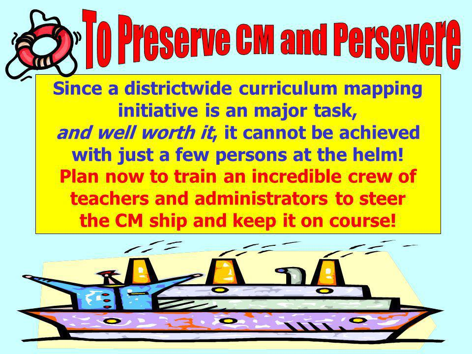 To Preserve CM and Persevere