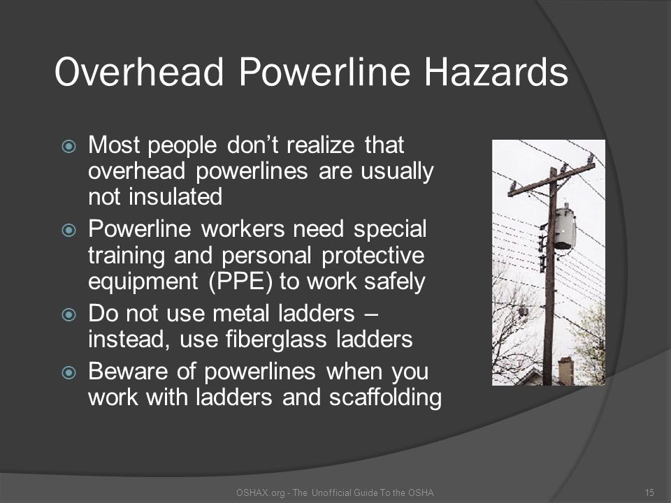 Overhead Powerline Hazards
