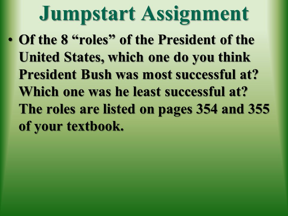 Jumpstart Assignment