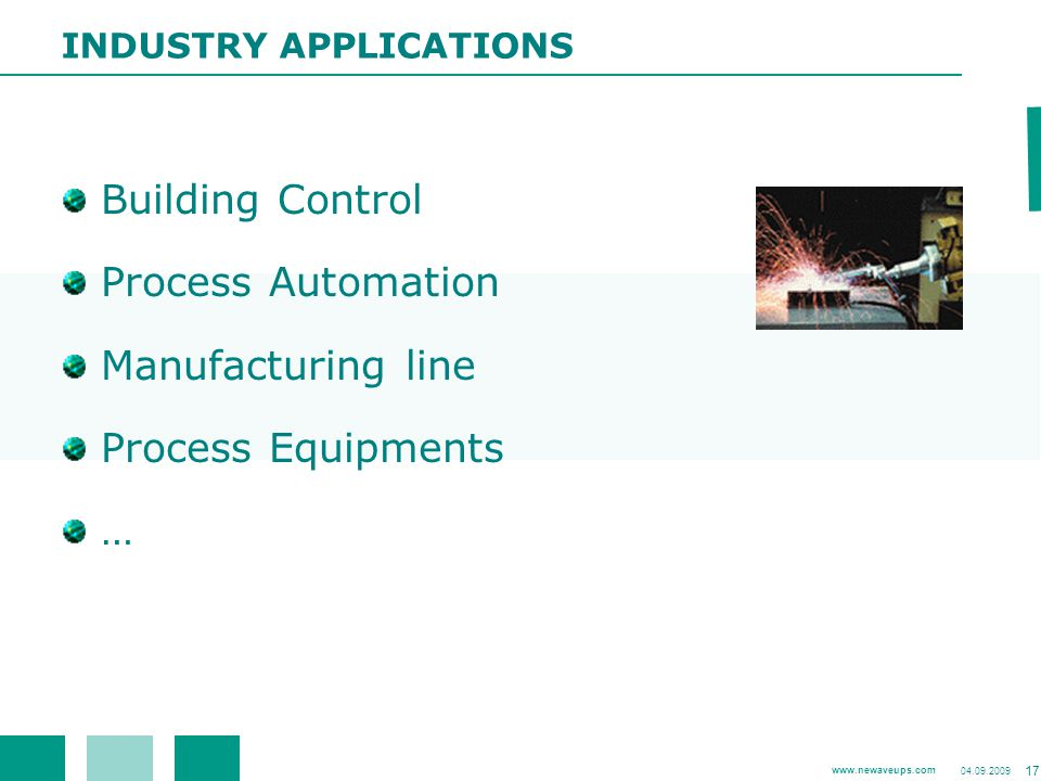 Building Control Process Automation Manufacturing line
