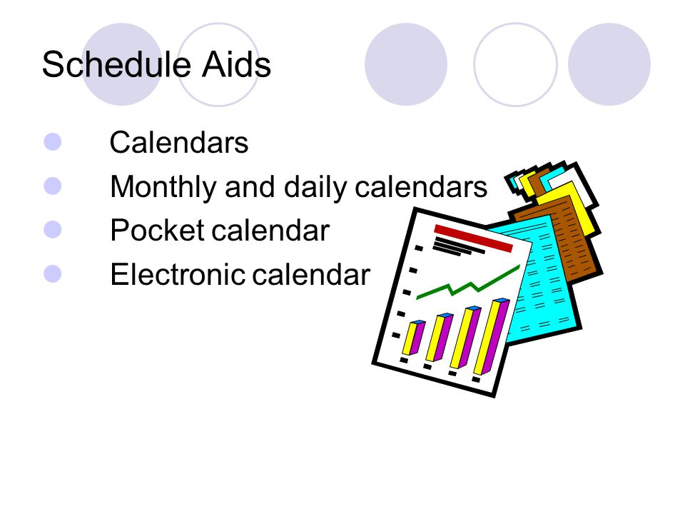 Schedule Aids Calendars Monthly and daily calendars Pocket calendar