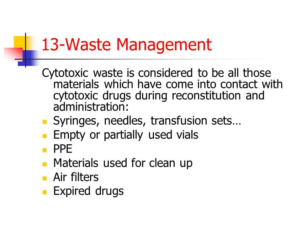 13-Waste Management