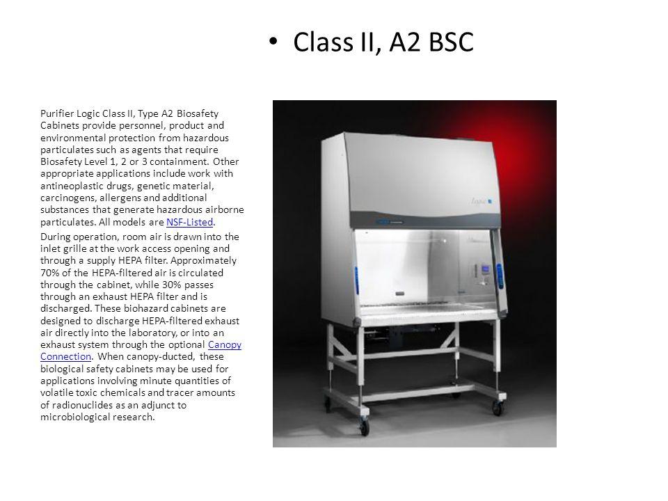 Class II, A2 BSC
