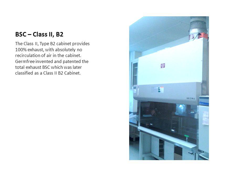 BSC – Class II, B2